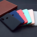 お買い得  Xiaomi ケース/カバー-ケース 用途 Xiaomi Mi 8 / Mi 8 SE つや消し バックカバー ソリッド ソフト TPU のために Xiaomi Mi 8 / Xiaomi Mi 8 SE / Xiaomi Mi 6X(Mi A2)