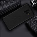cheap iPhone Cases-Case For Samsung Galaxy A8 Plus 2018 / A8 2018 Ultra-thin / Frosted Back Cover Solid Colored Soft Carbon Fiber for A6 (2018) / A6+ (2018) / A3(2017)