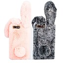 abordables Coques d'iPhone-Coque Pour Apple iPhone XR / iPhone XS Max Antichoc Coque Animal Dur Textile pour iPhone XS / iPhone XR / iPhone XS Max