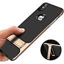 hesapli iPhone Kılıfları-Pouzdro Uyumluluk Apple iPhone XR / iPhone XS Max Şoka Dayanıklı / Satandlı / Ultra İnce Arka Kapak Solid Sert PC için iPhone XS / iPhone XR / iPhone XS Max