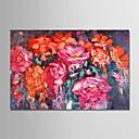 ieftine Becuri De Mașină LED-Hang-pictate pictură în ulei Pictat manual - Floral / Botanic Modern Fără a cadru interior / Canvas laminat