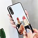 hesapli Duvar Işıkları-Pouzdro Uyumluluk Huawei P20 / P20 Pro Ayna Arka Kapak Solid Sert Temperli Cam için Huawei P20 / Huawei P20 Pro / Huawei P20 lite