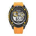 رخيصةأون Huawei أغطية / كفرات-رجالي ساعة رياضية ساعة رقمية رقمي جلد اصطناعي أسود / أحمر / البرتقال رزنامه قضية رقمي كاجوال - أخضر أسود / أزرق أسود / ذهبي روزي