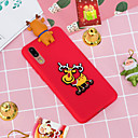 cheap Cases / Covers for Huawei-Case For Huawei P20 Pro / P20 lite Pattern Back Cover Christmas Soft TPU for Huawei P20 / Huawei P20 Pro / Huawei P20 lite