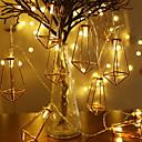 billiga Bakljus-3,3 m Ljusslingor 20 lysdioder Varmvit Dekorativ AA Batterier Drivs 1set