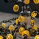 Χαμηλού Κόστους Φακοί-6m Φώτα σε Κορδόνι 40 LEDs Θερμό Λευκό Διακοσμητικό 220-240 V 1set