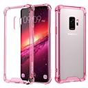 halpa Kaapelit ja adapterit-Etui Käyttötarkoitus Samsung Galaxy S9 / S8 Iskunkestävä / Läpinäkyvä Takakuori Yhtenäinen Pehmeä TPU / Akryyli varten S9 / S9 Plus / S8 Plus
