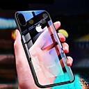 baratos Capinhas para iPhone-Capinha Para Apple iPhone XR / iPhone XS Max Ultra-Fina / Transparente Capa traseira Sólido Rígida Vidro Temperado para iPhone XS / iPhone XR / iPhone XS Max