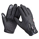 cheap Cycling Gloves-Bike Gloves / Cycling Gloves / Ski Gloves / Touch Gloves Men's / Women's Full finger Gloves Windproof / Waterproof / Keep Warm Canvas / Fleece Ski / Snowboard