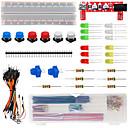 economico Kit Fai-da-te-Keyes kit di componenti di base 501c per appassionati di arduino elettronico