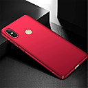cheap Fruit & Vegetable Tools-Case For Xiaomi Xiaomi Mi Max 3 Ultra-thin Back Cover Solid Colored Hard PC for Xiaomi Mi Max 3