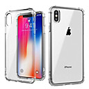 cheap iPhone Cases-Case For Apple iPhone XS / iPhone XS Max Shockproof / Transparent Back Cover Solid Colored Soft TPU for iPhone XS / iPhone XR / iPhone XS Max