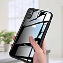 olcso Fürdőszobai kütyük-Case Kompatibilitás Apple iPhone XS / iPhone XS Max Ultra-vékeny / Átlátszó Fekete tok Egyszínű Kemény Akril mert iPhone XS / iPhone XR / iPhone XS Max