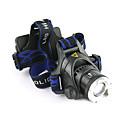 preiswerte Stirnlampen-LS059 Stirnlampen Fahrradlicht LED LED 1200 lm 3 Beleuchtungsmodus inklusive Batterien und Ladegerät Zoomable-, Wasserfest, einstellbarer Fokus Camping / Wandern / Erkundungen, Für den täglichen