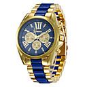 levne Pánské-Pánské Sportovní hodinky Náramkové hodinky Křemenný Černá / Bílá / žlutá 30 m Hodinky na běžné nošení Velký ciferník Analogové Na běžné nošení Módní - Černá Žlutá Modrá