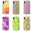 baratos Capinhas para iPhone-Capinha Para Apple iPhone XS / iPhone XS Max Estampada Capa traseira Fruta Macia TPU para iPhone XS / iPhone XR / iPhone XS Max