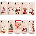 cheap Universal Cases & Bags-Case For Huawei P20 lite / Huawei P Smart Plus Pattern Back Cover Christmas Soft TPU for Huawei P20 lite / Huawei P smart / Huawei P Smart Plus