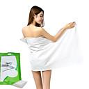 preiswerte Handtücher & Bademäntel-Gehobene Qualität Badehandtuch Set, Solide 100% Polyester Bad 2 pcs