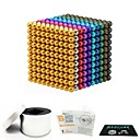 cheap Stacking Blocks-1000 pcs 3mm Magnet Toy Magnetic Balls Magnet Toy Building Blocks Magnetic Stress and Anxiety Relief Office Desk Toys Relieves ADD, ADHD, Anxiety, Autism Novelty Kid's / Teenager / Adults' All Boys