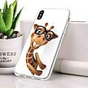 olcso iPhone tokok-Case Kompatibilitás Apple iPhone XR Porálló / Ultra-vékeny / Minta Fekete tok Állat Puha TPU mert iPhone XR