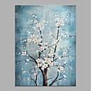 ieftine Ceasuri Bărbați-Hang-pictate pictură în ulei Pictat manual - Abstract Floral / Botanic Clasic Modern Fără a cadru interior / Canvas laminat