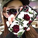 Недорогие Кейсы для iPhone-Кейс для Назначение Apple iPhone XR / iPhone XS Max С узором Кейс на заднюю панель Цветы Твердый Силикон / ПК для iPhone XS / iPhone XR / iPhone XS Max