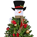 cheap Home Decoration-Holiday Decorations Christmas Decorations Christmas / Christmas Ornaments Decorative White 1pc
