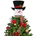 preiswerte Innendekoration-Urlaubsdekoration Weihnachtsdeko Weihnachten / Weihnachtsschmuck Dekorativ Weiß 1pc