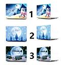 abordables Étuis MacBook & Sacoches MacBook & Sacs MacBook-MacBook Etuis Noël PVC pour MacBook Pro 13 pouces / MacBook Pro 15 pouces / MacBook Air 13 pouces