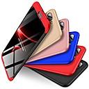 Недорогие Чехлы и кейсы для Galaxy S6-Кейс для Назначение Huawei Huawei Honor 10 Защита от удара / Матовое Кейс на заднюю панель Однотонный Твердый ПК
