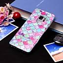 رخيصةأون حافظات / جرابات هواتف جالكسي S-غطاء من أجل Samsung Galaxy S9 / S9 Plus / S8 Plus IMD / شبه شفّاف غطاء خلفي خطوط / أمواج ناعم TPU