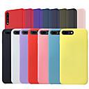 رخيصةأون أغطية أيفون-غطاء من أجل Huawei Huawei P20 / Huawei P20 Pro / Huawei P20 lite مثلج غطاء خلفي لون سادة ناعم سيليكون