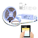 cheap LED Strip Lights-5m Flexible LED Light Strips / Light Sets / Smart Lights 300 LEDs SMD5050 1 AC Cable / 1 x 2A power adapter RGB Waterproof / APP Control / Cuttable 100-240 V 1 set