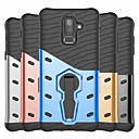 cheap Galaxy J Series Cases / Covers-Case For Samsung Galaxy J7 Prime / J6 Shockproof / with Stand Back Cover Armor Hard PC for J8 (2018) / J7(2017-Sky Pro / V / Perx) / J7 Prime