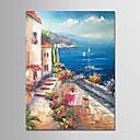 ieftine Ustensile Bucătărie & Gadget-uri-Hang-pictate pictură în ulei Pictat manual - Peisaj Modern Fără a cadru interior / Canvas laminat