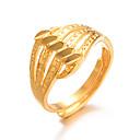 olcso Gyűrűk-Női Klasszikus Gyűrű Állítható gyűrű Arannyal bevont hölgyek Luxus Túlzás Divat Divatos gyűrű Ékszerek Arany Kompatibilitás Esküvő Ajándék