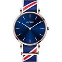 رخيصةأون حالات ساعة ذكية-Kopeck رجالي ساعة المعصم ساعة رقمية ياباني كوارتز ياباني نايلون أسود / رمادي / مسبح مقاوم للماء ساعة كاجوال مماثل موضة غني بالألوان - أسود رمادي أزرق