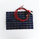 Χαμηλού Κόστους DIY Εξαρτήματα και Εργαλεία-zdm 18v 12v 10w ηλιακός φορτιστής μπαταρίας αυτοκινήτου φορητός ηλιακός θερμοσίφωνας ηλιακός θερμοσίφωνας φορτιστής με πώμα αναπτήρα τσιγάρου, φορτιστής μπαταρίας γραμμή κλιπ για μοτοσικλέτα rv