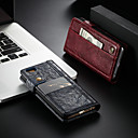 저렴한 아이폰 케이스-CaseMe 케이스 제품 Apple iPhone 6 / iPhone 6s 지갑 / 카드 홀더 / 스탠드 전체 바디 케이스 솔리드 하드 PU 가죽 용 iPhone 6s / iPhone 6