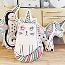 hesapli Peluş Oyuncaklar-Kedi Unicorn Plyšáci Sevimli nefis Rahat Pamuk / Polyester Hepsi Oyuncaklar Hediye 3 pcs