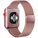 billige Apple Watch-remmer-Klokkerem til Apple Watch Series 4/3/2/1 Apple Milanesisk rem Metall Håndleddsrem