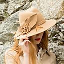 olcso iPhone tokok-Elizabeth A csodálatos Mrs. Maisel Női Felnőttek hölgyek Retró Kentucky Derby Hat kalap Kék Könnyű teve Virág Fejfedők Lolita kiegészítők