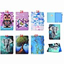 cheap iPad  Cases / Covers-Case For Apple iPad (2018) / iPad Pro 11'' Card Holder / Flip / Pattern Full Body Cases Butterfly / Owl / Balloon Hard PU Leather for iPad Air / iPad 4/3/2 / iPad Mini 3/2/1