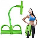 hesapli Fitness Aksesuarları-Egzersiz Direnç Bantları İle 1 pcs Kompozit Direnç Eğitimi İçin Unisex Yoga / Fitness / Egzersiz yapmak Vücut parçası