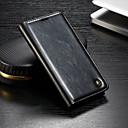 levne iPhone pouzdra-CaseMe Carcasă Pro OnePlus OnePlus 6 Peněženka / Pouzdro na karty / se stojánkem Celý kryt Jednobarevné Pevné PU kůže pro OnePlus 6