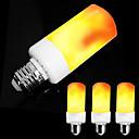 preiswerte LED-Kugelbirnen-ZDM® 4pcs 5 W 300 lm E14 / E26 / E27 LED Kugelbirnen / LED Kerzen-Glühbirnen 99 LED-Perlen SMD 2835 Party / Dekorativ / Weihnachtshochzeitsdekoration Bernstein 85-265 V