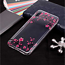 cheap iPhone Cases-Case For Apple iPhone XR / iPhone XS Max Transparent / Pattern Back Cover Flower Soft TPU for iPhone XS / iPhone XR / iPhone XS Max