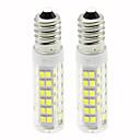 저렴한 다양한 LED 조명-2pcs 4.5 W 450 lm E14 LED 콘 조명 T 76 LED 비즈 SMD 2835 밝기조절가능 따뜻한 화이트 / 차가운 화이트 220 V