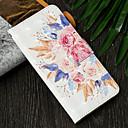 رخيصةأون حافظات / جرابات هواتف جالكسي J-غطاء من أجل Samsung Galaxy J7 (2017) / J6 (2018) / J6 Plus محفظة / حامل البطاقات / مع حامل غطاء كامل للجسم زهور قاسي جلد PU