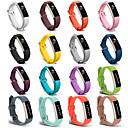 저렴한 패션 목걸이-시계 밴드 용 Fitbit Alta HR / Fitbit Ace / Fitbit Alta 핏빗 스포츠 밴드 실리콘 손목 스트랩